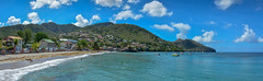 ... Caribbean atmosphere ... (wolli s) Tags: caribbean martinique beach panorama sand water frankreich fr nikon d7100 stitched ngc