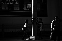 The Following   !!! (imagejoe) Tags: vegas nevada street strip black white photography photos shadows reflections tamron people nikon