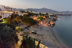Playa de la Calahonda Nerja (@femarzati) Tags: playa atardecer balcondeeuropa nerja calahonda sunset beach costadelsol malaga andalucia d5200