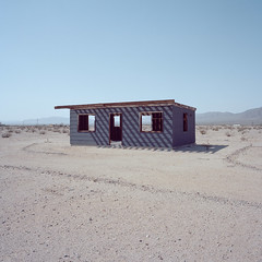 it's a dry heat. wonder valley, ca. 2018. (eyetwist) Tags: eyetwistkevinballuff eyetwist abandoned vacant house ruin wondervalley mojavedesert california film 6x6 mamiya 6mf 50mm kodak portra 160 mamiya6mf mamiya50mmf4l kodakportra160 ishootfilm analog analogue emulsion mamiya6 square mediumformat 120 filmexif icon epsonv750pro lenstagger ishootkodak mojave desert highdesert landscape derelict americana empty broken windows peeling bleak barren dry drought dust american west rural faded decay desolate lonely structure building wood americantypologies rafters beams roofless homestead cabin purple door twentyninepalms joshuatree backtaxes