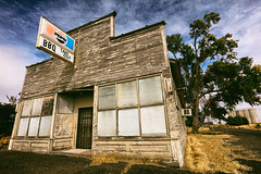 Take Out (Ian Sane) Tags: ian sane images takeout pepsi sign bbq abandoned convenience store grain elevator central kent oregon semighost town dobiepointlane highway97 architecture landscape photography canon eos 5ds r camera ef1740mm f4l usm lens