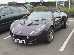 Lotus Elise S Touring  YJ08JJY (Andrew 2.8i) Tags: haynes motor museum breakfast meet sparkford yeovil somerset show classic classics cars car autos sports sportscar coupe targa open cabriolet convertible roadster s touring elise lotus