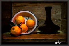 Orange juice in a black bottle (wibra53) Tags: 2018 black bottle fles juice nostalgie nostalgy orange sap sinasappel stilllifephotography stilleven zwart