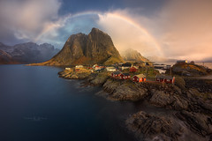 Hamnoy (Pablo RG) Tags: hamnoy lofoten noruega norway paisaje landscape nature sunset sinrise sunrise travel