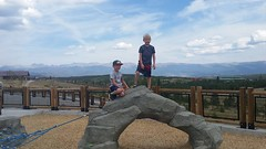 September 2, 2018 - The McNeil twins enjoy the high country. (Jennifer McNeil)