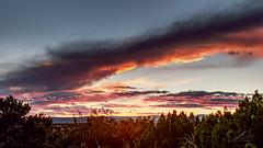 September sunset, Santa Fe, NM (j.lowell.w) Tags: mountains juniper pinon highdesert southwest