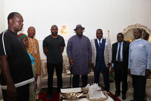 HSDickson- Condolence visit By The Redeemed Christian Church, Yenagoa. 28th August 2018