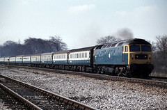 Trent Class 47 St Pancras to Sheffield April 80 J6846 (DavidWF2009) Tags: trent class47