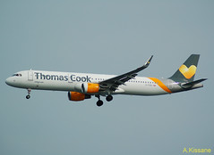 THOMAS COOK A321 G-TCDG (Adrian.Kissane) Tags: 6122 gtcdg thomascook lanzarote a321