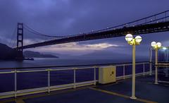 The Golden Gate (Tony Tomlin) Tags: sanfrancisco goldengate bridge cruiseship diamondprincess usa