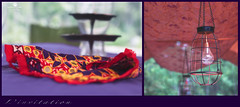 l'invitation (rockinmonique) Tags: afw 52in52 201852weekthemechallenge diptych napking light morrocan camping style red yellow green purple moniquewphotography canon canont6s tamron tamron45mm copyright2018moniquewphotography
