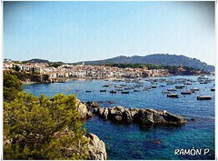 Calella de Palafrugell (# RAMÓN Mortadelo #) Tags: mortadelo65pp girona calelladepalafrugell playa pueblo costabrava baixempordà mar mediterráneo