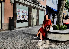 Braga Chic (ROBERTO FANTINEL) Tags: braga chic summer 2108 portugal leica dlux type 109 street filter