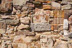 Wicked Wall (Harm Smit photo's) Tags: wall villaaugustus muur bricks metselen gemetseldemuur stonewall dordrecht recycling stonework ancient