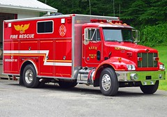 northville rescue 7 (view 2) (Zack Bowden) Tags: northville new milford ct fire truck peterbuilt rescue