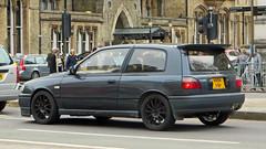 Oxford, Oxfordshire - England (Mic V.) Tags: oxford oxfordshire england uk gb united kingdom oxon great britain h494frp 2004 nissan pulsar turbo 1991 jdm japanese car voiture hot hatch hatchback