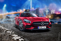 Mercedes-AMG GT Red Fury (nike_747Original) Tags: naksphotographydsign mercedesamg gt red fury night town city coast ocean rocks sea bokeh trails light blur stars smoke fog breeze waves asphalt landscape burn disks brakes carbon fiber mercedes amg mercedesbenz nike747 supercar hypercar super hyper car sportscar sport class exotic rare luxury color auto limited edition v8 biturbo lowfocus dof coupe fastback twinturbo dualclutch cherry caramel blue yellow gold black gray white