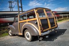 Morris Minor 1000cc (deltic17) Tags: railway hst 125 morris traveller minor morrisminor classic car historic wood shootingbrake