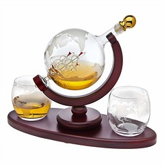 Stylish Whiskey Decanter Globe (mywowstuff) Tags: gifts gift ideas gadgets geeky products men women family home office