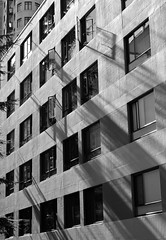 alleyway in the Westend (roaming-the-planet) Tags: westend westofdenman vancouver afternoonsun shadows monochrome streetphotography