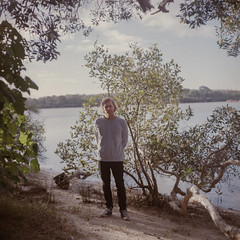 shaun (J.K.Stevens) Tags: mamiyac220 mamiya mediumformat sunshine coast portrait kodakportra160 tlr twinlensreflex beach mangrove qld queensland sekor80mmf28 square film light lightmeter