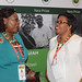 Charlotte Sanginga and AFP laureate Florence Wambugu at 2018AFP