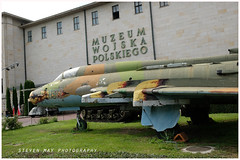 8512 Sukhoi Su-22M4 preserved in Warsaw (SPRedSteve) Tags: 8512 warsaw poland sukhoi su22 museum mwp polish aircraft