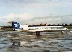 Alaska 727 at Sea/Tac (Gerry Rudman) Tags: alaska boeing 727227adv n304as seattletacoma roswell new mexico airlines