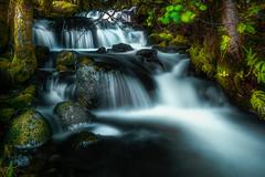 Running water 3 (BjørnP) Tags: water waterfall trees light rocks forrest nature bjerkreim norway motion bjørkeland peder bjørn sony