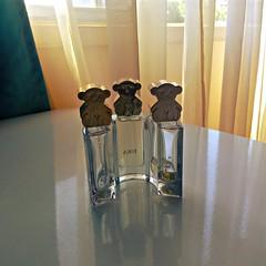 3 TOUS (Gabriela Andrea Silva Hormazabal) Tags: perfumes perfume parfum eaudeparfum tous oso bear tres 3 bottle botella vidrio