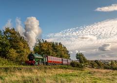 Tanfield Railway 1940s Weekend 22-9-2018 (KS Railway Gallery) Tags: tanfield railway 1940s weekend wartime ncb no49 uk steam east incline