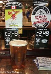 August 19th, 2018 Today's Tipple - Red Racer Pale Ale (karenblakeman) Tags: baroncadogan pub caversham uk beer ale redracer indiapaleale harviestoun bittertwisted august 2018 2018pad reading berkshire