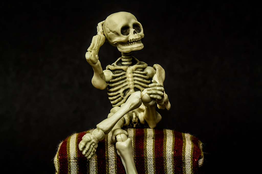The World's Best Photos of sitting and skeleton - Flickr