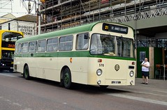 570 OFR970M (PD3.) Tags: former blackpool transport aec swift 570 fleetwood fylde lancashire bus buses trams tram north pier central south pleasure beach pcv psv talbot square heritage