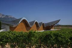 Bodegas Ysios, Laguardia (Tom Willett) Tags: rioja spain bodgea bodegas laguardia ysios wine winery vineyard vine wineries bodegasysios