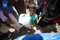 Islamic Relief Qurbani distribution in Yemen