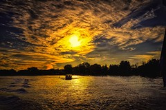 Sunset (stephaneblaisphoto) Tags: beauty nature cloud sky idyllic nautical vessel no people nonurban scene orange color outdoors plant scenics silhouette sunset tranquil tranquility transportation tree water waterfront
