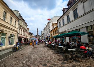 Street scene in Potsdam, Germany