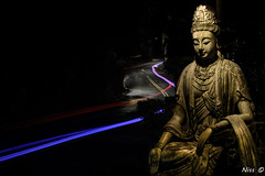 GOD belief 求神 (Niss Liu) Tags: 觀音 車軌 簡單美 belief 求神 神 taiwan 台灣美 獨特 信仰 夜拍 夜曝 god