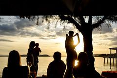 Figures in the Sun (Irene TP) Tags: sunlight figures people silhouettes sundown shapes passages lake trasimeno italy passignano nikond7100