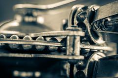 ..it's a beat up.. (dawn.tranter) Tags: dawntranter hmm macromondays cogwheels handbeater vintage beater closeup macro