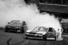 British Drift Championship (MPH94) Tags: british drift championship wigan three sisters circuit auto car cars motor sport motorsport race racing motorracing drifting black white monochrome bdc bdc2018 nissan