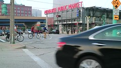 Video: Evening Bike Ride past the Milwaukee Public Market (johndecember) Tags: video milwaukee mke wisconsin usa album 2018 september summer gallery milwaukeepublicmarket thirdward publicmarket store food restaurant eastsaintpaulavenue bike bicyclists people onthehoproute