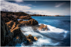 What a Day! (Augmented Reality Images (Getty Contributor)) Tags: nisifilters benro bluesky canon cliffs clouds coastline findochty harbour horizon landscape longexposure morayshire rocks scotland seascape summer water waves worldphotographyday