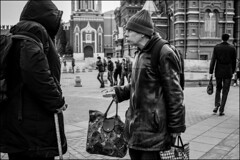 DR150408_0406M f6sel (dmitryzhkov) Tags: street life moscow russia human monochrome reportage social public urban city photojournalism streetphotography documentary people bw dmitryryzhkov blackandwhite everyday candid stranger