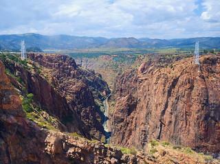 The Royal Gorge of the Arkansas River, Cañon City Colorado
