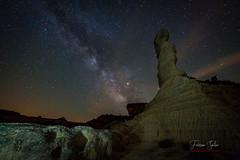 El Tozal (Yaco1959) Tags: tozal elsolitario vialactea nocturna paisaje cielo milkyway