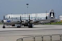 NX529B (Commemorative Air Force) (Steelhead 2010) Tags: commemorativeairforce americanairpowerflyingmuseum boeing b29 superfortress yhm nreg nx529b fifi