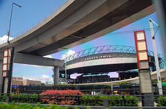 Seattle Safeco Field (Infinity & Beyond Photography) Tags: seattle mariners safecofield baseball park stadium architecture elevated road overpass