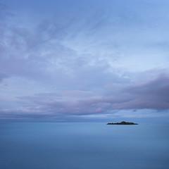 Paradise (www.neilburnell.com) Tags: seascape minimalism minimal minimalist sea bluehour ocean england landscape devon brixham longexposure le